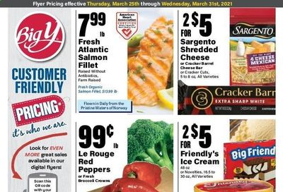 Big Y (CT) Weekly Ad Flyer March 25 to March 31