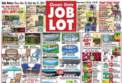 Ocean State Job Lot Weekly Ad Flyer March 25 to March 31