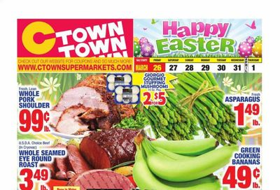 C-Town Weekly Ad Flyer March 26 to April 1