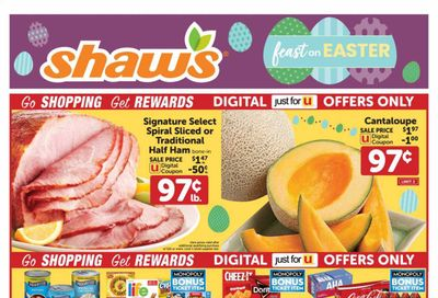 Shaw's (MA, ME, NH, RI, VT) Weekly Ad Flyer March 26 to April 1
