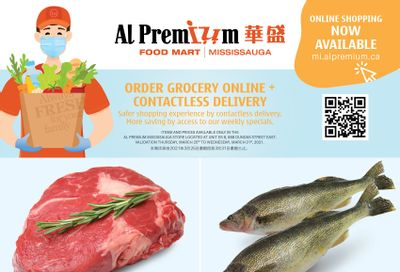 Al Premium Food Mart (Mississauga) Flyer March 25 to 31