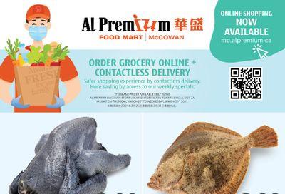 Al Premium Food Mart (McCowan) Flyer March 25 to 31