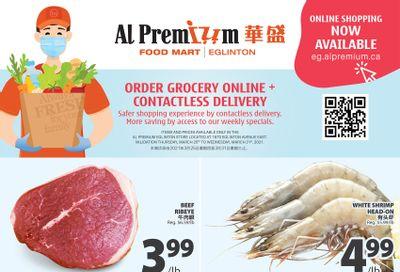 Al Premium Food Mart (Eglinton Ave.) Flyer March 25 to 31
