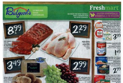 Bidgood's Flyer March 25 to 31