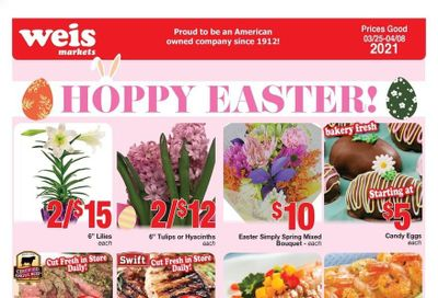 Weis Weekly Ad Flyer March 25 to April 8