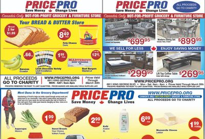 Price Pro Flyer March 24 to 30