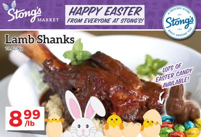 Stong's Market Flyer March 26 to April 8