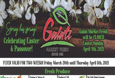 Galati Market Fresh Flyer March 26 to April 8
