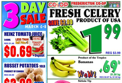 Fredericton Co-op Flyer March 5 to 11