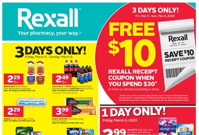 Rexall (West) Flyer March 6 to 12
