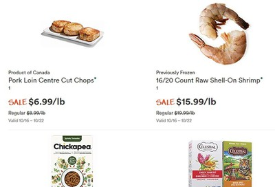 Whole Foods Market (ON) Flyer October 16 to 22