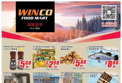 WinCo Food Mart (HWY 7) Flyer March 5 to 11
