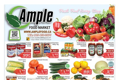 Ample Food Market Flyer March 6 to 12