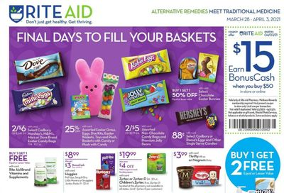 RITE AID Weekly Ad Flyer March 28 to April 3