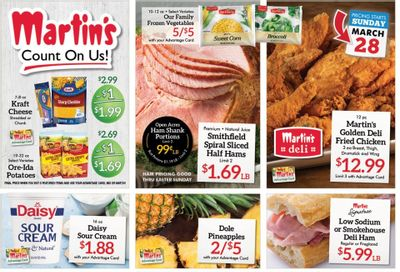 Martin's Weekly Ad Flyer March 28 to April 3