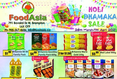 FoodAsia Flyer March 26 to April 11