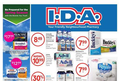 I.D.A. Flyer March 26 to April 8