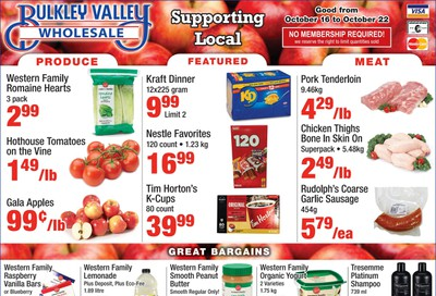 Bulkley Valley Wholesale Flyer October 16 to 22