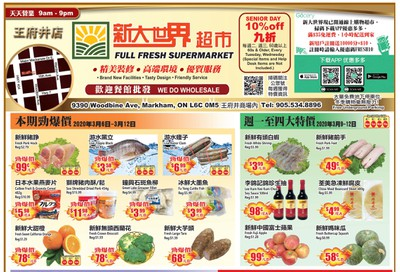 Full Fresh Supermarket Flyer March 6 to 12
