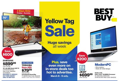 Best Buy Flyer March 6 to 12