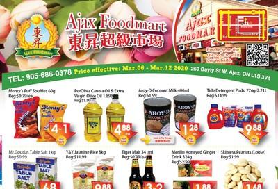 Ajax Foodmart Flyer March 6 to 12