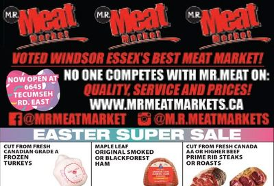 M.R. Meat Market Flyer March 27 to April 3
