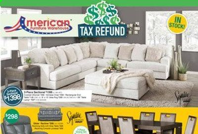 American Furniture Warehouse Weekly Ad Flyer March 28 to April 3