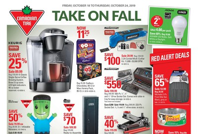 Canadian Tire (Atlantic) Flyer October 18 to 24