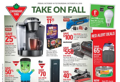 Canadian Tire (ON) Flyer October 18 to 24