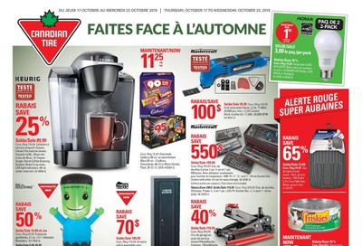 Canadian Tire (QC) Flyer October 17 to 23
