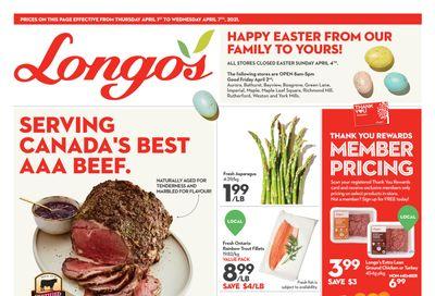 Longo's (Ancaster & Liberty Village) Flyer April 1 to 7