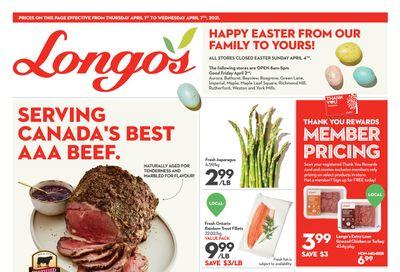 Longo's Flyer April 1 to 7