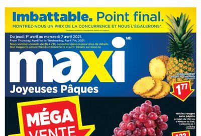 Maxi & Cie Flyer April 1 to 7