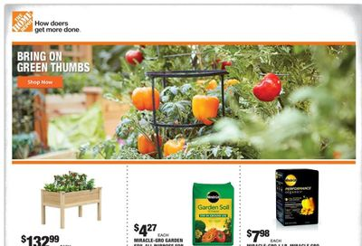 The Home Depot Weekly Ad Flyer March 29 to April 8