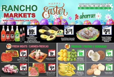 Rancho Markets Weekly Ad Flyer March 30 to April 5