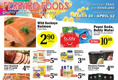 Ferraro Foods Flyer March 30 to April 12