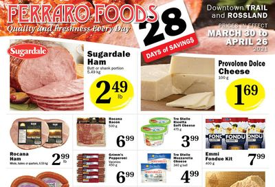 Ferraro Foods Flyer March 30 to April 26
