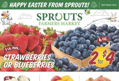Sprouts Weekly Ad Flyer March 31 to April 6