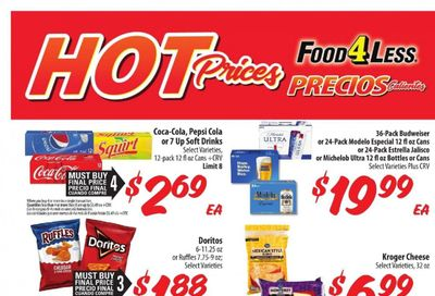 Food 4 Less (CA) Weekly Ad Flyer March 31 to April 6
