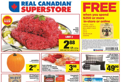 Real Canadian Superstore (West) Flyer October 18 to 24