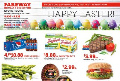 Fareway (IA, IL, MN, MO, NE, SD) Weekly Ad Flyer March 30 to April 5