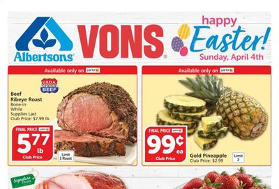 Albertsons Weekly Ad Flyer March 31 to April 6