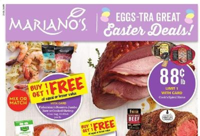 Mariano's Weekly Ad Flyer March 31 to April 6