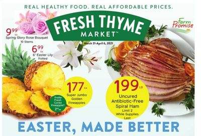 Fresh Thyme Weekly Ad Flyer March 31 to April 6