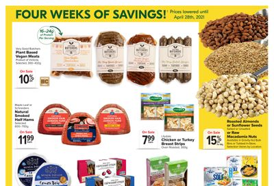 Thrifty Foods Flyer April 1 to 28