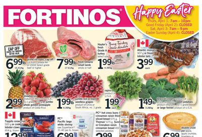 Fortinos Flyer April 1 to 3
