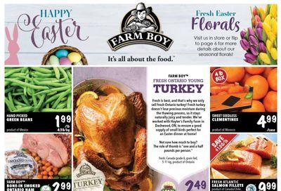Farm Boy Flyer April 1 to 7