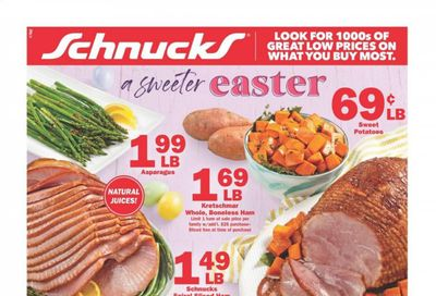 Schnucks (IA, IL, IN, MO, WI) Weekly Ad Flyer March 31 to April 6