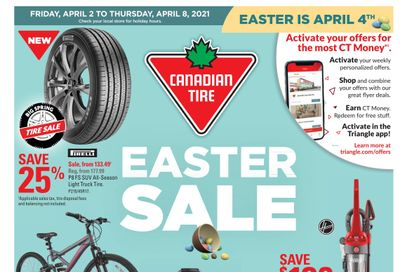 Canadian Tire (ON) Flyer April 2 to 8