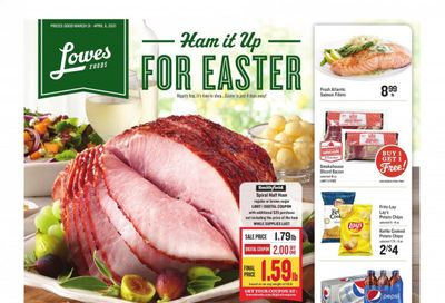 Lowes Foods Weekly Ad Flyer March 31 to April 6